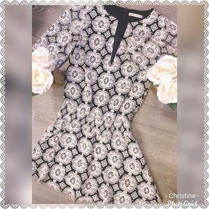 *Alice + Olivia Crochet Embroidery Dress*